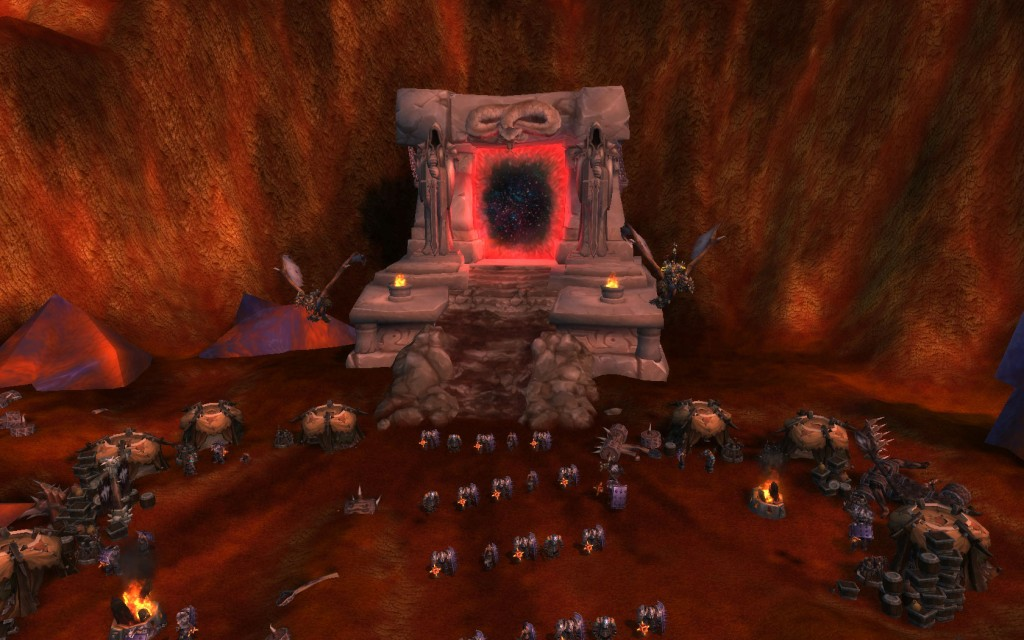 Red Portal and Incursion