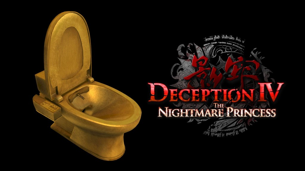Deception IV The Nightmare Princess Golden Toilet