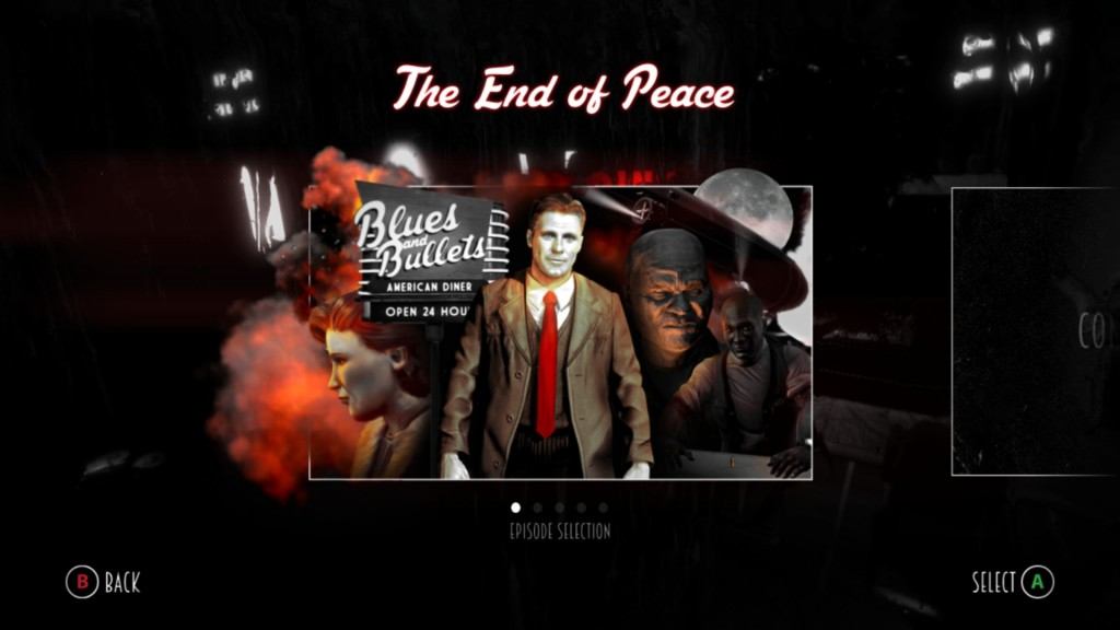 Blues and Bullets - The End of Peace