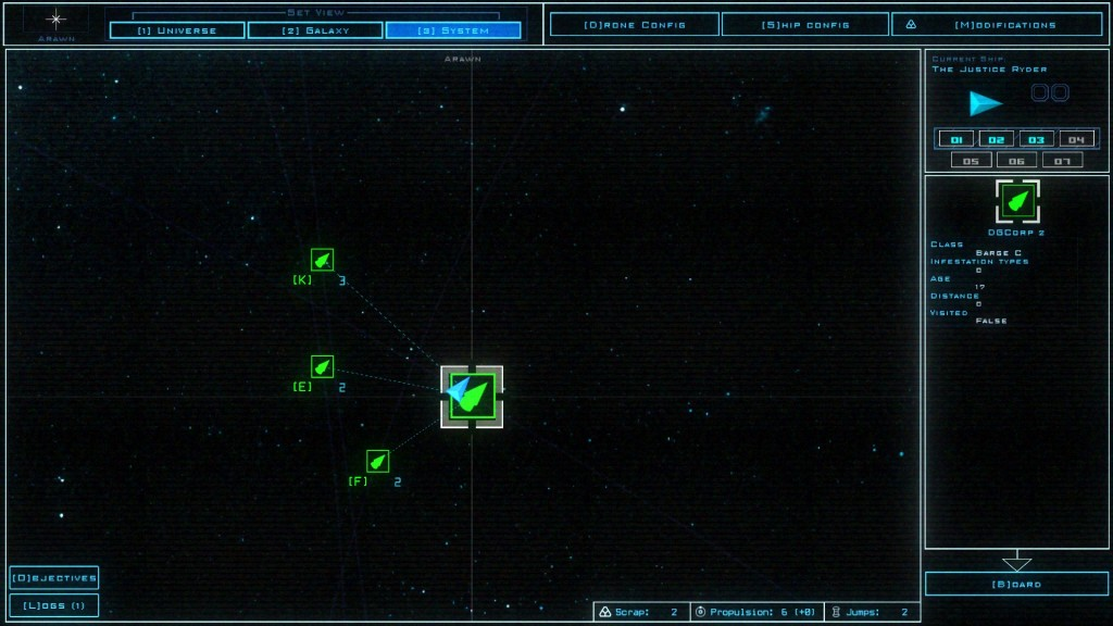 Duskers System